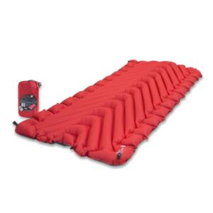 Felfújható laticel Klymit Insulated Static V ™ Lite piros, Klymit