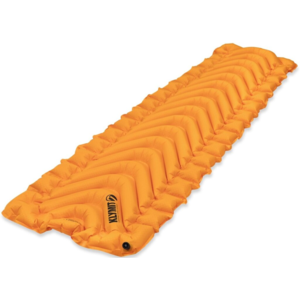 Felfújható laticel Klymit Insulated V Ultralite ™ SL narancssárga, Klymit