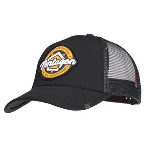 Siltes sapka PENTAGON® Era Trucker Tactical sportruházat fekete, Pentagon