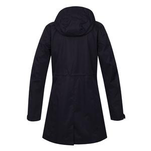 Női hardshellový kabát Husky Nut L black-lila, Husky
