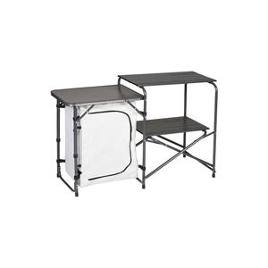 Összecsukható asztal / teakonyha Husky MDovody ezüst, Husky