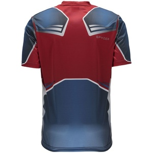 póló Spyder Men's Marvel S / S Tech Tee Captain America 179208-402, Spyder