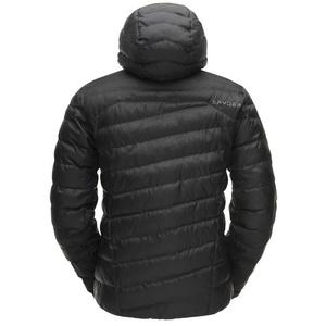 Kabát Spyder Men`s Az autókban HOODY Synthetic Down 181456-001, Spyder