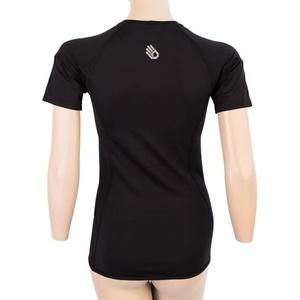 Női póló Sensor Coolmax TECH kr.rukáv fekete 20100021, Sensor