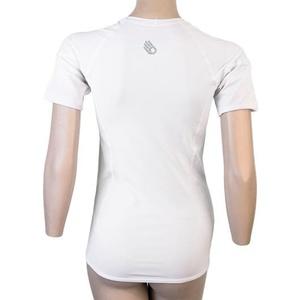 Női póló Sensor Coolmax TECH kr.rukáv fehér 20100022, Sensor