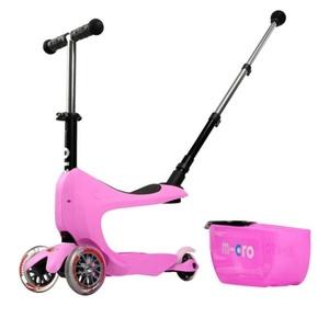 Robogó Micro Mini2go Deluxe Plus Pink, Micro