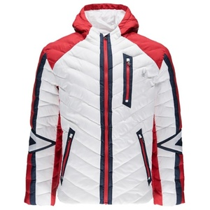 Kabát Spyder Men`s Vintage Hoody Synthetic Down 417116-100, Spyder