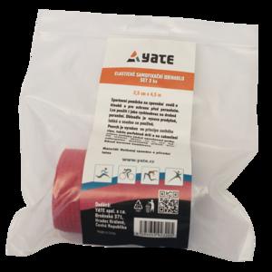 Rugalmas az önálló kötszer Yate set 3 db (2,5 cm x 4,5 m), Yate