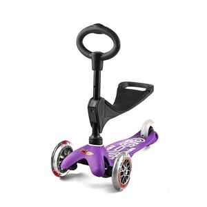 Robogó Mini Micro Deluxe 3v1 Purple, Micro