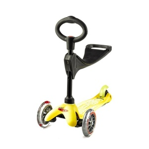 Robogó Mini micro Deluxe 3v1 Yellow, Micro