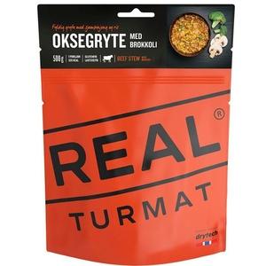 Real Turmat pörkölt marhahús  rizs és brdovodkoli, 120 g, Real Turmat