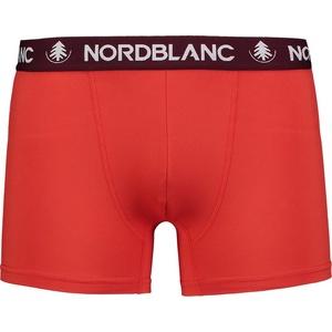 Férfi pamut boxeralsó Nordblanc Depth piros NBSPM6865_CVN, Nordblanc