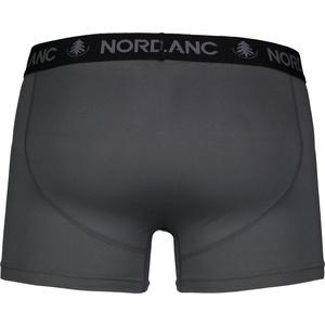 Férfi pamut boxeralsó Nordblanc Depth szürke NBSPM6865_TSD, Nordblanc