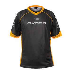 New Jersey OXDOG RACE SHIRT black/orange, Oxdog