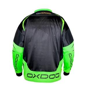 GOALIE mez OXDOG GATE GOALIE SHIRT black/green, Oxdog