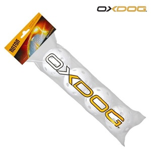 Készlet floorball balls Oxdog Rotor Ball White Tube, Oxdog