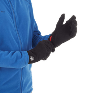 Kesztyű Mammut Fleece Glove (190-05921) black 0001, Mammut