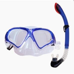 Készlet Spokey TORTUGA pipa szemüveg + kék, Spokey
