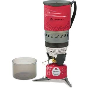 Tűzhely MSR WindBurner 1,0 l Stove System Red 09219, MSR