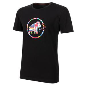 Férfi póló Mammut neuvedenozetek T-Shirt Men black 0001, Mammut