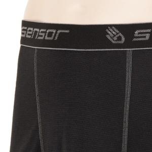 Férfi boxeralsó Sensor Double Face fekete 16200050, Sensor