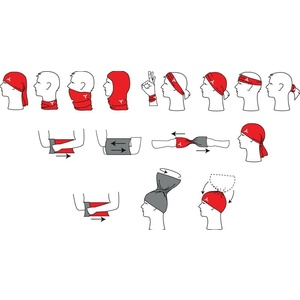 Cravat Silvini Motivo UA508 black-red