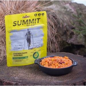 Summit To Eat pörkölt csirke fajita  rizs nagy csomagolás 802200, Summit To Eat