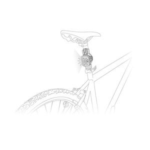 Adapter Petzl Bike Alkalmazkodni E000AA00, Petzl