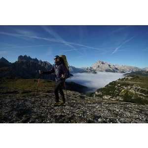 Kabát Direct Alpine CYCLONE indigó / aurora, Direct Alpine