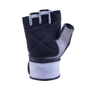 Fitness kesztyű Spokey GANT II fekete-fehér, Spokey