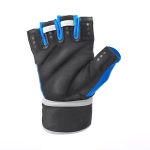 Fitness kesztyű Spokey RAYO III fekete-kék, Spokey