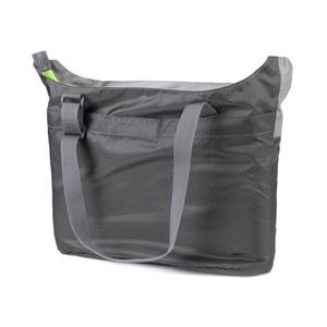 Összecsukható táska Spokey REJTETT LAKE szürke, zöld cipzár, Spokey