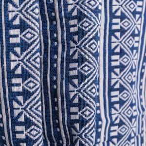 Ringató hálózat Spokey Zuni kék-fehér, Spokey