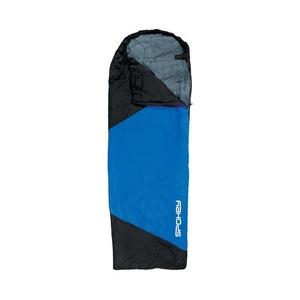 Alvás zsák Spokey ULTRALIGHT 600 II fekete / kék, balra rögzítés, Spokey