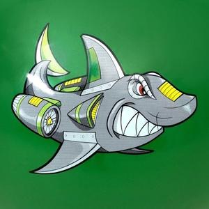 Jumping labda Spokey Sharky 60 cm, Spokey