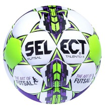 Ball Select Futsal talento 11 fehér lila, Select