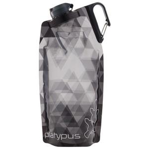 Üveg Platypus DuoLock SoftBottle Gray prizmák 1 l, Platypus