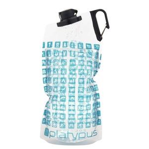 Üveg Platypus DuoLock SoftBottle Bérek Logo 2 l, Platypus