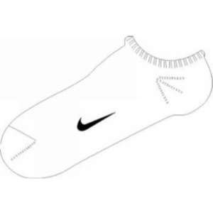 Zokni Nike Ankle Femme Blue SX1430-103, Nike