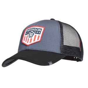 Siltes sapka Era Trucker US Flag PENTAGON® Wolf Grey, Pentagon