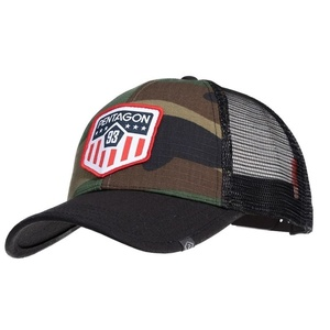 Siltes sapka Era Trucker US Flag PENTAGON® US woodland, Pentagon