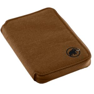 Levéltárca MAMMUT Zip Wallet mélange Timber, Mammut