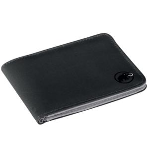 Levéltárca Mammut Flap Wallet Black 0001, Mammut