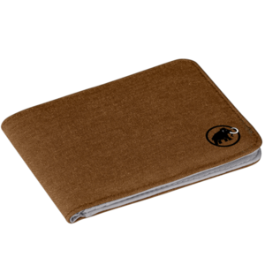 Levéltárca MAMMUT Flap Wallet mélange Timber, Mammut