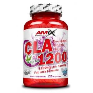 Csökkentés súly Amix CLA 1200 + Green Tea 120 cps., Amix