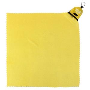 Gyorsan száradó törülköző Spokey NEMO 40x40 cm sárga  karabinouu, Spokey