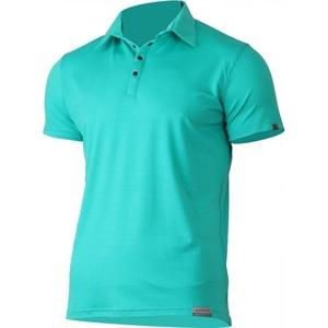 Férfi gyapjas póló Lasting ELIOT 6565 zöld, Lasting