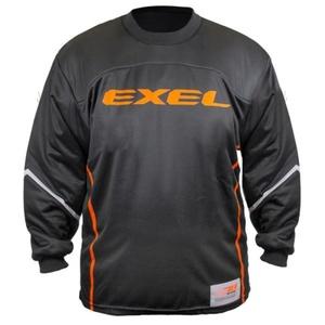 Kapus mez EXEL S100 GOALIE JERSEY black/orange, Exel