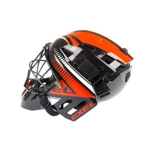 kapus sisak EXEL S100 HELMET idősebb ember black/orange, Exel