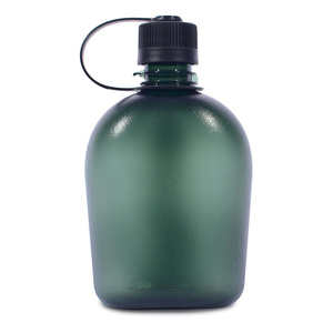 Üveg Pinguin Tritan Flask 1.0L green, Pinguin